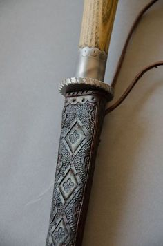 Tooled rondel dagger sheath by 3wunder