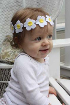 Beautiful flower headband