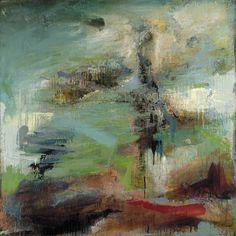 "Maxine Solomon, 40"" x 40""  Oil on Canvas"