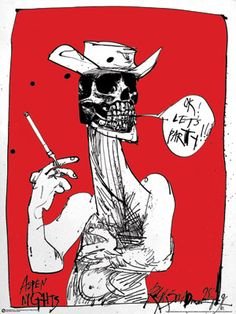 My Favorite piece of artwork Ralph Steadman + Hunter S Thompson = <3