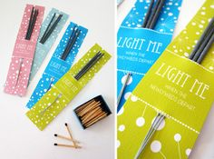 Sparkler Holders | 31 Free Wedding Printables Every Bride-To-Be Should Know About