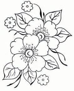 Resultados de la búsqueda de imágenes: patrones de flores y guardas para bordar - Yahoo Search