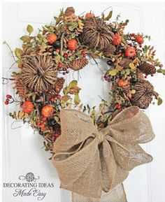 Grapevine Wreaths Decorated