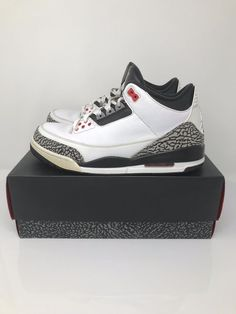 promo code 1a47a 852f6 Air Jordan 3 RETRO INFRARED 23 Size 10 136064-123 OG Box Ready To Ship