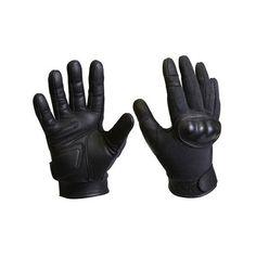 Police Tactical Gloves KEVLAR Hard Knuckle Glove Police & Tactical... ($36) via Polyvore