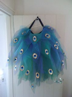Peacock Tail Bustle - Festival Burlesque Fancy Dress                                                                                                                                                                                 More