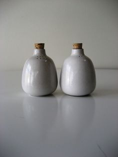 Heath Ceramics Salt and Pepper Shakers by ModernRelicsShop on Etsy
