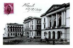 1914 - Postal com o atual Tribunal de Justiça.