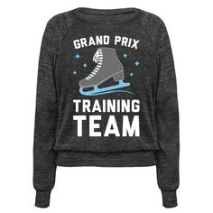 Get ready for the Grand Prix and practice your moves with this figure skating, training team design! Perfect for an anime lover, figure skater, Yuri On Ice fans, anime fans, Yuri fans, Victor fans, and training for the Grand Prix!
