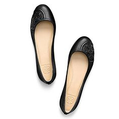 949e2a4d88d3e3 TORY BURCH Tory Burch Ruby Classic Ballet Flat Tumbled Leather.  toryburch   shoes