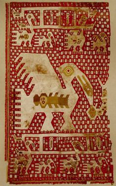 Andes, South America - Chimú culture - textile