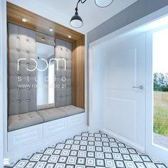 Dom jednorodzinny na Psim Polu, Wrocław - Hol / przedpokój, styl nowojorski - zdjęcie od ROOM STUDIO