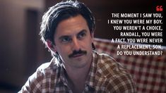 Discover and share the most famous quotes from the TV show This Is Us. Best Tv Shows, Best Shows Ever, Favorite Tv Shows, Movies And Tv Shows, Favorite Things, Tv Show Quotes, Movie Quotes, The Carrie Diaries, Most Famous Quotes