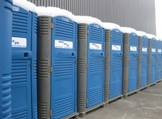 Our portable toilets are ready to be rented.  Call us