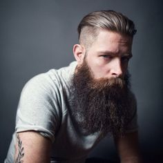 This is the hair style and beard I want, so badly!