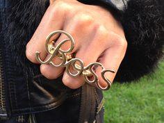 'BOSS'+Ring, £7.99