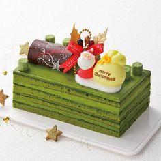 フランス発祥のケーキ・オペラを抹茶尽くしで表現。【京都店23日・24日店頭お渡し】Xmasシンフォニー