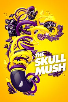The Skull Mush! via Behance - 3D Typography Design Modelling  Check out Renderfeed's new #Cinema4D artist interview featuring insanely talented young Italian #C4D artist Luca Viola: http://renderfeed.com/2014/05/renderfeed-artist-profile-luca-viola/