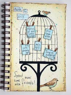 Paperlicious Designs: MIXED MEDIA / ART JOURNAL--Looks like a great website