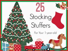 Little Guy will be 15 months this Christmas. I was struggling with what to fill his stocking with this year, so I did a little research an...