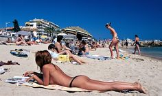 Is the decline in topless sunbathing a backward step for feminism?