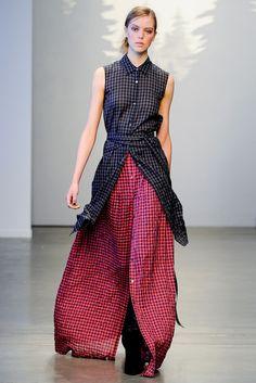 Tess Giberson Fall 2014 Ready-to-Wear Fashion Show
