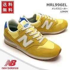 ニューバランス New Balance 靴 メンズ スニーカーMRL996EL LEMON レモン (MRL996EL,LEM) MENS SNEAKER MEN'S スニーカー イエロー