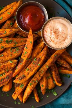 Baked Sweet Potato Fries - Cooking Classy