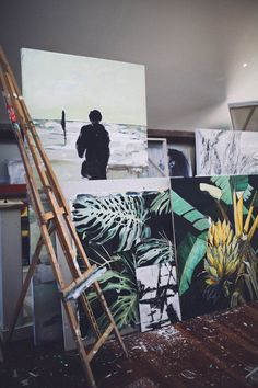 Studio Tour: Step Inside Artist Sam Malpass's Bohemian World | Free People Blog #freepeople
