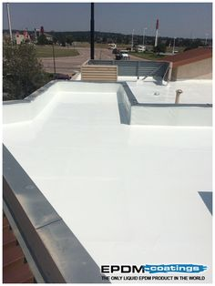 Elastomeric Roof Coatings - Treatment of roofing problems