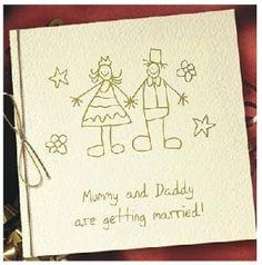 Wedding Invitation Drawing