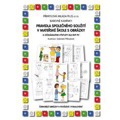 Pravidla společného soužití v MŠ s obrázky Monopoly, Display, Floor Space, Billboard
