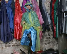 Latex Costumes, Pvc Raincoat, Rain Wear, Hoods, Windbreaker, Kimono Top, Dressing Room, Inspiration, Woman