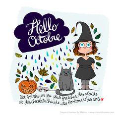 Joyeux mois d'octobre à tous ! Merci pour votre patience pour ce dessin qui, comme je l'avais indiqué, a un peu de retard à cause du bouc...