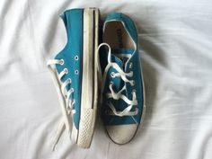 all star, blue, and converse image