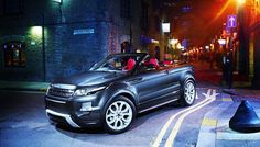 Off-Road Meets Open Sky in Land Rover's Range Rover Evoque Convertible Concept | Robb Report