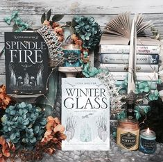 GIVEAWAY . Whats one of your favorite fairytales??? . Winter Glass by @proofoflex is set in a lush fantasy world in deep peril! IT is the epic conclusion to the dark and stunning fairy tale reinvention that began with Spindle Fire. . To learn more about the book click on the link in my bio! I also have a giveaway for one lucky winner. Check out the details below: . GIVEAWAY Enter to win a copy of Winter Glass - follow me @proofoflex @glasstownent @epicreads and @storygramtours - tag a friend…