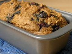 Whole Wheat Fat-Free Vegan Blueberry Breakfast Cake Recipe | Happy Herbivore