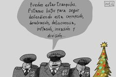 mensaje militares Venezuela Navidad 2012
