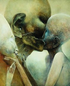Zdzislaw Beksinski (24 February 1929 - 22 February 2005) was a renowned Polish painter, photographer, and fantasy artist.