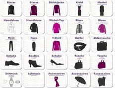 Eine vollständige Basisgarderobe fürs Büro besteht aus sorgfältig ausgewählten Kleidungsstücken und Accessoires, die alle miteinander kombinierbar sind.