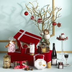Quite simply Christmas in a box ! www.hampersandco.com