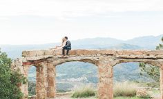 Romantic Engagement Photos Among Castle Ruins: Rachel + Nicholas