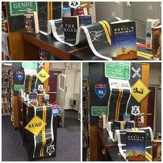 Library Displays: The Road to Discovery