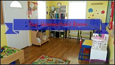 Our Homeschool Room and Organization 2014