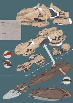 A.O.Z Re-Boot02-B: Zeon Sand Angler & Mud Angler Land Ships.