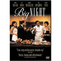Big Night  great food movie