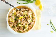 Crockpot Skinny Lemon Chicken