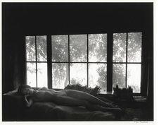 Nude By Sandy's Window, by Wynn Bullock