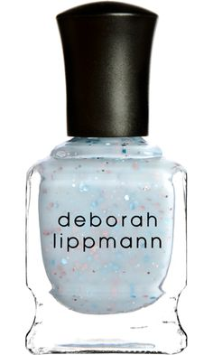 Deborah Lippmann Glitter In The Air- no box swatched 1 or 2 times on nail wheel completely full $16 OBO